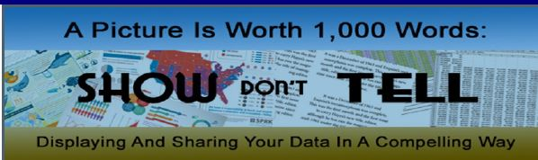A Picture is Worth 1,000 Words - Displaying and Sharing Your Data in a Compelling Way