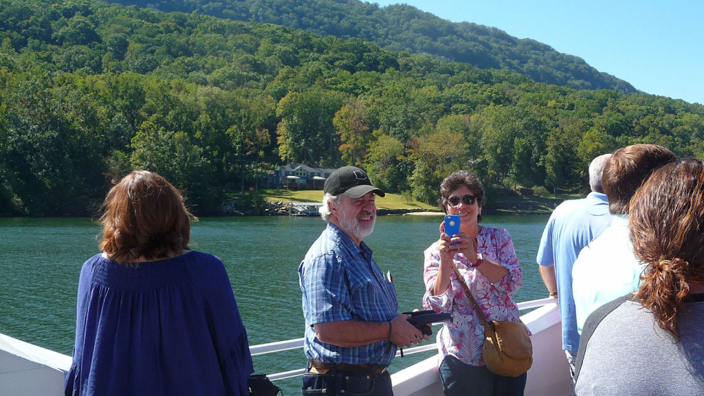 Barrett, Schrupp and Jones on River Gorge Trip